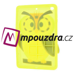 Silikonové puzdro na iPad mini 2 - žltá sova - 4