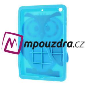 Silikonové puzdro na iPad mini 2 - modrá sova - 4