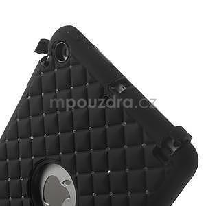 Hybridní kamínkové puzdro pre iPad mini- čierné - 4