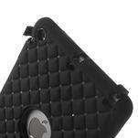 Hybridní kamínkové puzdro pre iPad mini- čierné - 4/7