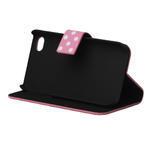 Peňaženkové puzdro pre iPhone 4, 4s- růžový puntík - 4/4
