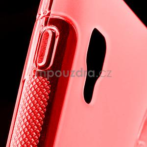 Gélové S-line  puzdro pre LG Optimus L5 II E460- červené - 4