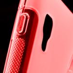 Gélové S-line  puzdro pre LG Optimus L5 II E460- červené - 4/5