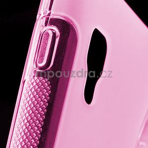 Gélové S-line  puzdro pre LG Optimus L5 II E460- růžové - 4