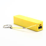 2600mAh externí baterie Power Bank - žltá - 4/7