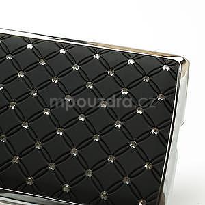 Drahokamové puzdro pre HTC Desire 600- čierné - 4