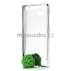 Drahokamové puzdro pre HTC Desire 600- biele - 4