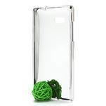 Drahokamové puzdro pre HTC Desire 600- biele - 4/4