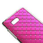 Drahokamové puzdro pre HTC Desire 600- ružové - 4/5