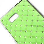 Drahokamové puzdro pre HTC Desire 600- zelené - 4/5