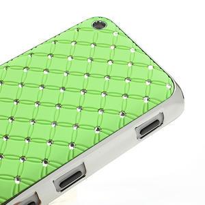 Drahokamové puzdro na Nokia Lumia 620- zelené - 4