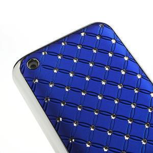 Drahokamové puzdro na Nokia Lumia 620- modré - 4
