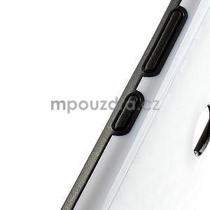 Hybridní 3D puzdro pre Nokia Lumia 925- biele - 4