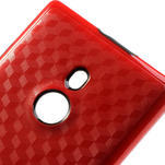 Hybridní 3D puzdro pre Nokia Lumia 925- červené - 4/5