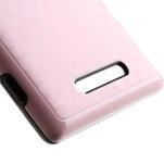 Hybridní 3D puzdro pre Nokia Lumia 925- růžové - 4/5