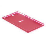 Ultra slim puzdro na Sony Xperia Z ultra- červené - 4/5