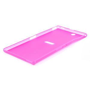 Ultra slim puzdro na Sony Xperia Z ultra- růžové - 4