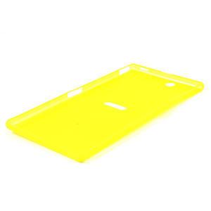 Ultra slim puzdro na Sony Xperia Z ultra- žlté - 4