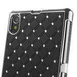 Drahokamové pouzdro na Sony Xperia Z1 C6903 L39- černé - 4/5