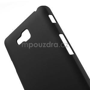 Pogumované  puzdro pre LG Optimus L9 II D605- čierné - 4