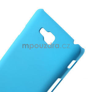 Pogumované  puzdro pre LG Optimus L9 II D605- svetlo modré - 4