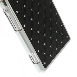 Drahokamové pouzdro na Sony Xperia Z2 D6503- černé - 4