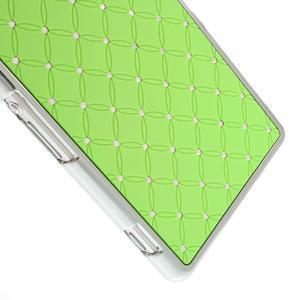 Drahokamovej puzdro pre Sony Xperia Z2 D6503- zelené - 4