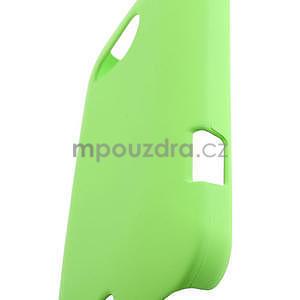 Pogumované puzdro pre HTC Desire 200- zelené - 4