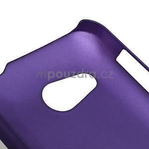 Pogumované puzdro pre HTC Desire 200-fialové - 4