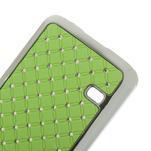 Drahokamové pouzdro na Samsung Galaxy S5 mini G-800- zelené - 4/4