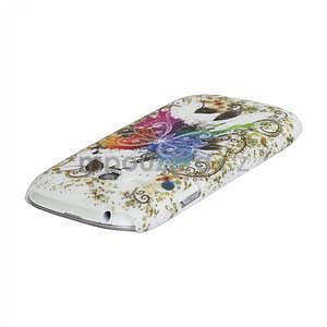 Butterfly gélové puzdro pre Samsung Galaxy S3 mini / i8190 - 4