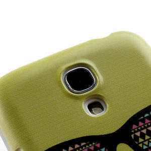 Plastové pouzdro na Samsung Galaxy S4 mini i9190- Le moustache - 4