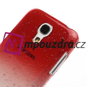Plastové minerálné puzdro pro Samsung Galaxy S4 mini i9190- červené - 4