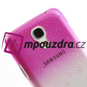 Plastové minerálné puzdro pre Samsung Galaxy S4 mini i9190- ružové - 4