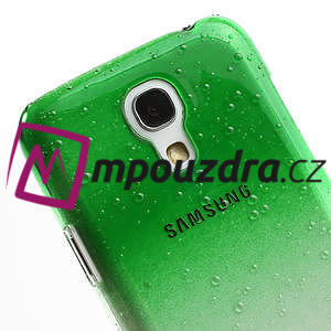 Plastové minerální pouzdro pro Samsung Galaxy S4 mini i9190- zelené - 4