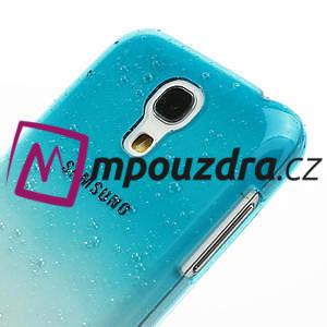 Plastové minerálné puzdro pre Samsung Galaxy S4 mini i9190- svetlomodré - 4