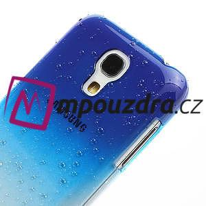 Plastové minerálné puzdro pre Samsung Galaxy S4 mini i9190- modré - 4