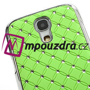 Drahokamové pouzdro pro Samsung Galaxy S4 mini i9190- zelené - 4