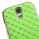 Drahokamové puzdro pro Samsung Galaxy S4 mini i9190- zelené - 4/5