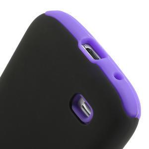 Hybridné puzdro pre Samsung Galaxy S4 mini i9190- fialové - 4