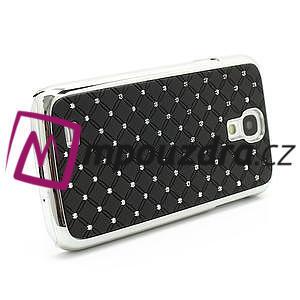 Drahokamové pouzdro pro Samsung Galaxy S4 i9500- černé - 4