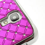 Drahokamové pouzdro pro Samsung Galaxy S4 i9500- růžové - 4/7