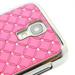 Drahokamové pouzdro pro Samsung Galaxy S4 i9500- světle-růžové - 4/7