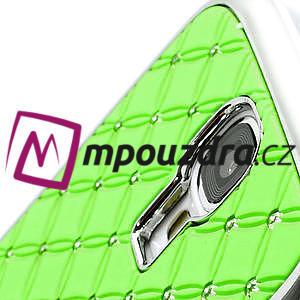 Drahokamové pouzdro pro Samsung Galaxy S4 i9500-zelené - 4