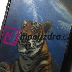 Hard Case 3D puzdro na Xiaomi Mi3- tygr - 4