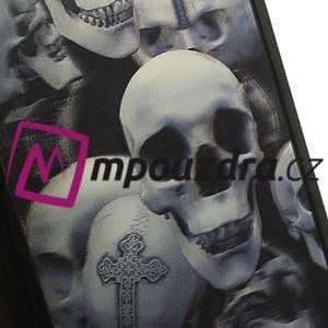 Hard Case 3D puzdro na Xiaomi Mi3- lebky - 4