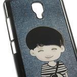 Hard Case 3D puzdro na Xiaomi Mi3- dívka love - 4/5