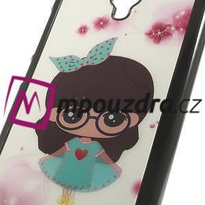 Hard Case 3D puzdro na Xiaomi Mi3- dívka v šatech - 4