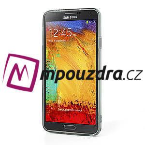 Gélové hybrid puzdro na Samsung Galaxy Note 3- šedé - 4