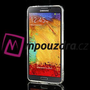 Gélové hybrid puzdro na Samsung Galaxy Note 3- transparentný - 4